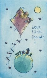 """Love is in the air"" product image"