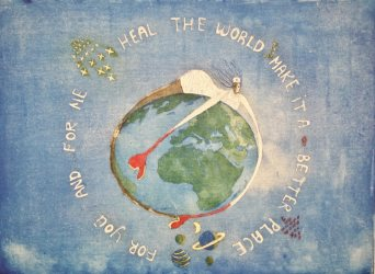"""Heal the world"" product image"