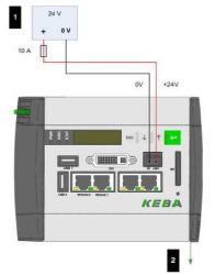 KEBA KEContact M10 Fleet Server product image