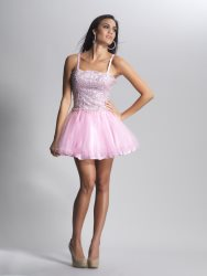 Pink Prom Dress product image